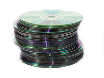 Cd pile Royalty Free Stock Photo