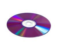 CD-Platte mit Farbenvarianten Lizenzfreie Stockfotos