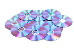 Cd Platten stockfotos