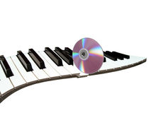 CD play synthesizer Stock Photos