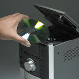 Cd player Royalty Free Stock Photography