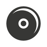 cd player isolated icon design Royalty Free Stock Photography