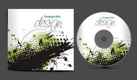 cd pokrywy projekt Zdjęcie Stock