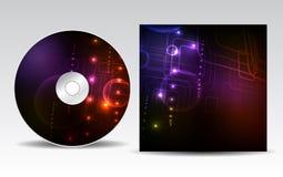 CD pokrywy projekt Zdjęcia Stock