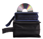 Cd with pouch Royalty Free Stock Photos