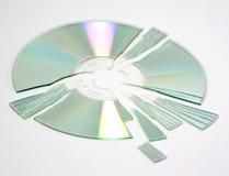 CD quebrado Fotos de Stock