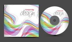 cd räkningsdesign stock illustrationer