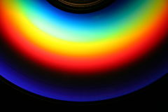 CD Rainbow Stock Images
