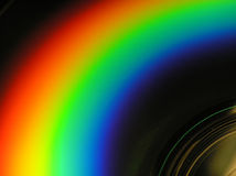 Cd � rainbow-look Stock Images