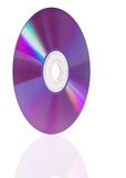 Cd with reflection Royalty Free Stock Photo