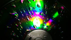 CD reflection royalty free stock photography