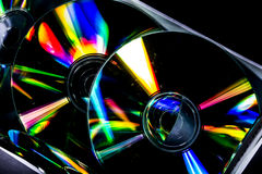 Cd and reflex Royalty Free Stock Photo