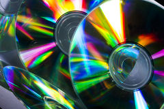 Cd and reflex Stock Photography