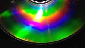CD reflexion Royaltyfria Bilder