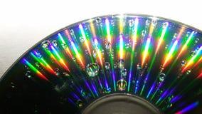 CD reflexion Arkivfoton