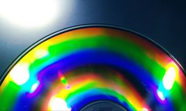 CD reflexion Arkivbilder
