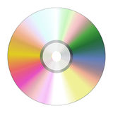 Cd rom. An illustration of a nice cd rom texture Stock Photos