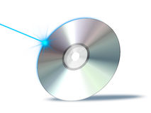 Cd rom. An illustration of a bluray dvd cd rom Royalty Free Stock Photo