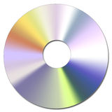 Cd-Rom. Illustration of the Compact Disc Royalty Free Stock Photography