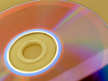 CD rom. Close up Royalty Free Stock Photography