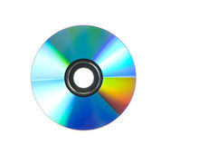Cd rom. Isolated on white background Royalty Free Stock Image