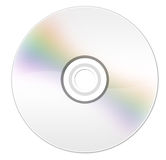 Cd rom. Software disk isolated on white Stock Image