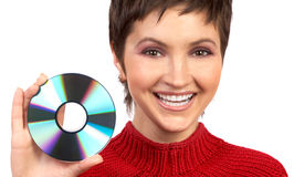 CD-ROM Imagens de Stock Royalty Free