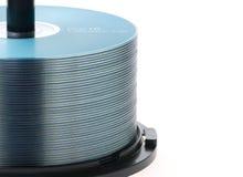 CD-ROM blu Immagine Stock Libera da Diritti