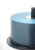 CD-ROM blu Fotografie Stock Libere da Diritti