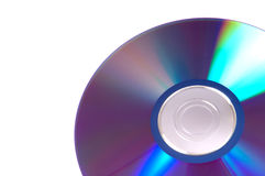 Cd-rom disk. Isolated on a white background Stock Photo