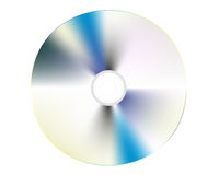 CD-ROM. CD disk on a white background Stock Photography