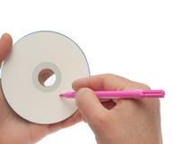 CD-ROM escribible Foto de archivo libre de regalías