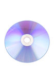 CD rom isolated on white Stock Photography