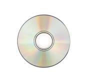 CD rom Isolated on white Stock Image