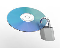 Cd-rom or Software Protector Stock Image
