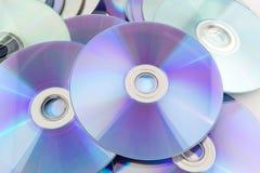 CD rom  on white Stock Image