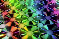 CD romes for background Royalty Free Stock Image