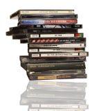 CD `s van de muziek Stock Foto