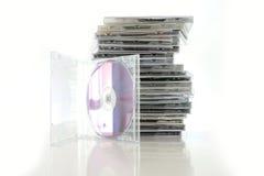 cd samling Arkivfoto
