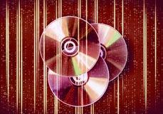 CD Schijf Royalty-vrije Stock Afbeelding