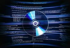 CD Schijf Stock Foto