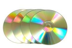 CD skiva Fotografering för Bildbyråer