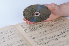 CD-SKIVA Royaltyfria Foton