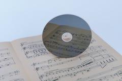 CD-SKIVA Arkivfoton