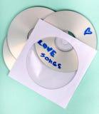 CD-SKIVA Arkivfoto