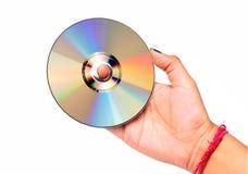 cd-skiva Arkivbild