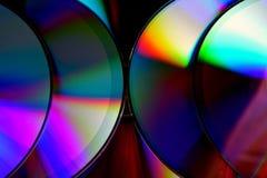 CD-SKIVA eller CD Royaltyfri Foto