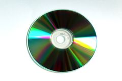 CD CD-SKIVA med reflexioner Fotografering för Bildbyråer