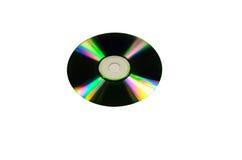 Cd skiva som isoleras på vit Royaltyfria Foton
