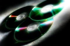 cd-skivor Arkivbilder